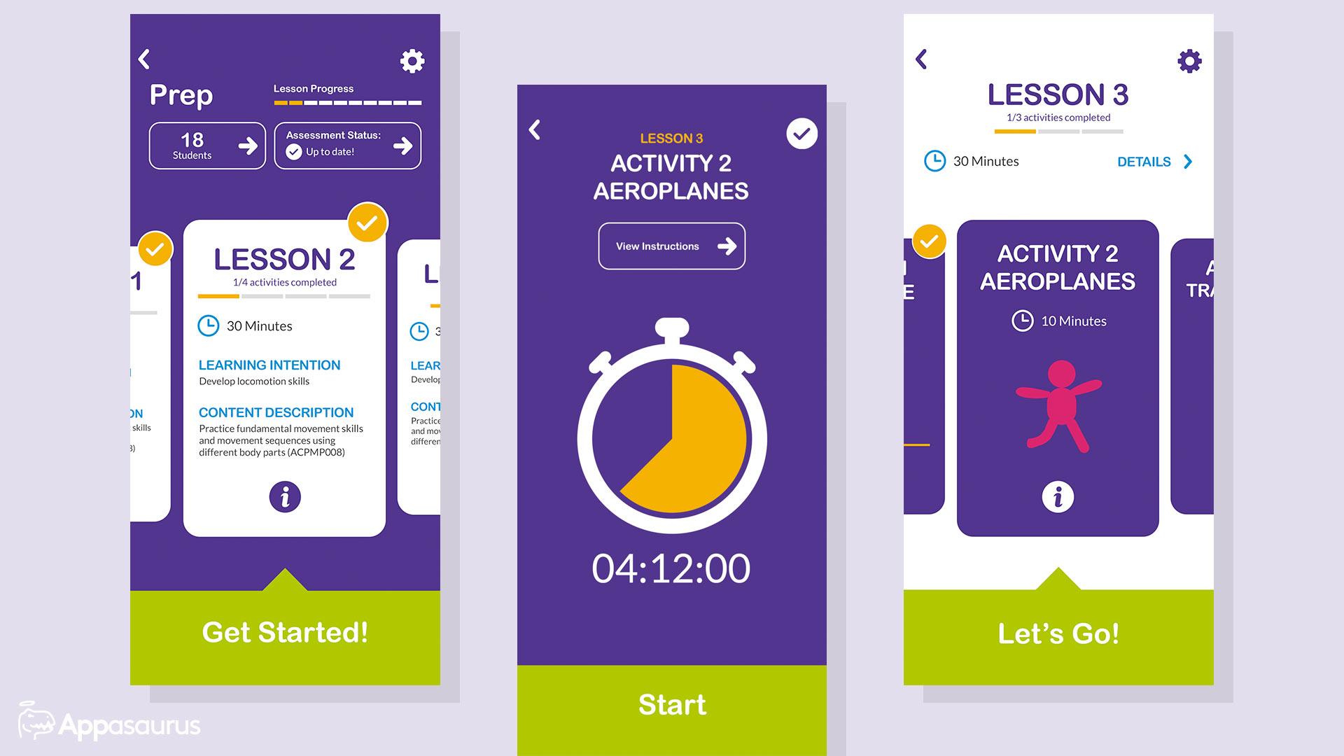Sporting app development and design