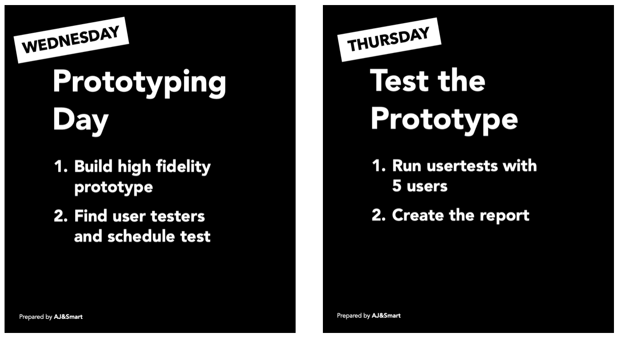 Design Sprint Day 3 & 4