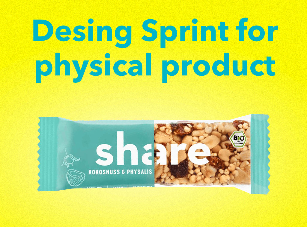 Design Sprint for a physical product of ShareFoods