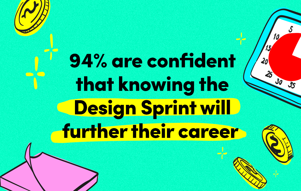 Design Sprints help further career development