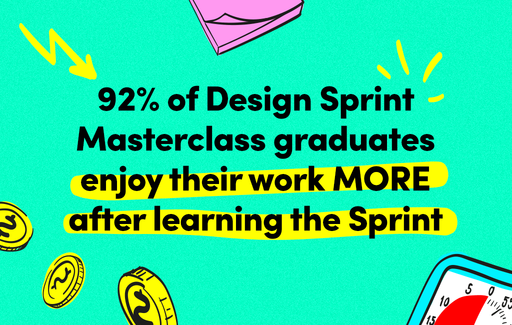 Design Sprints increase work satisfaction