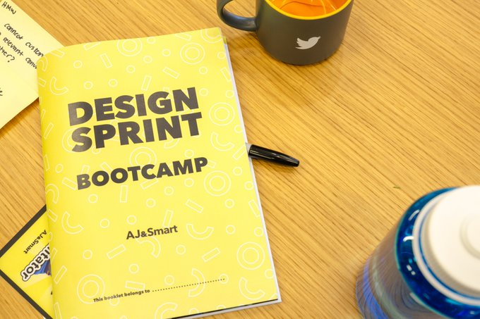 Design Sprint Bootcamp led by AJ&Smart