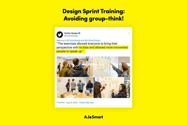 A workshop must – avoid groupthink