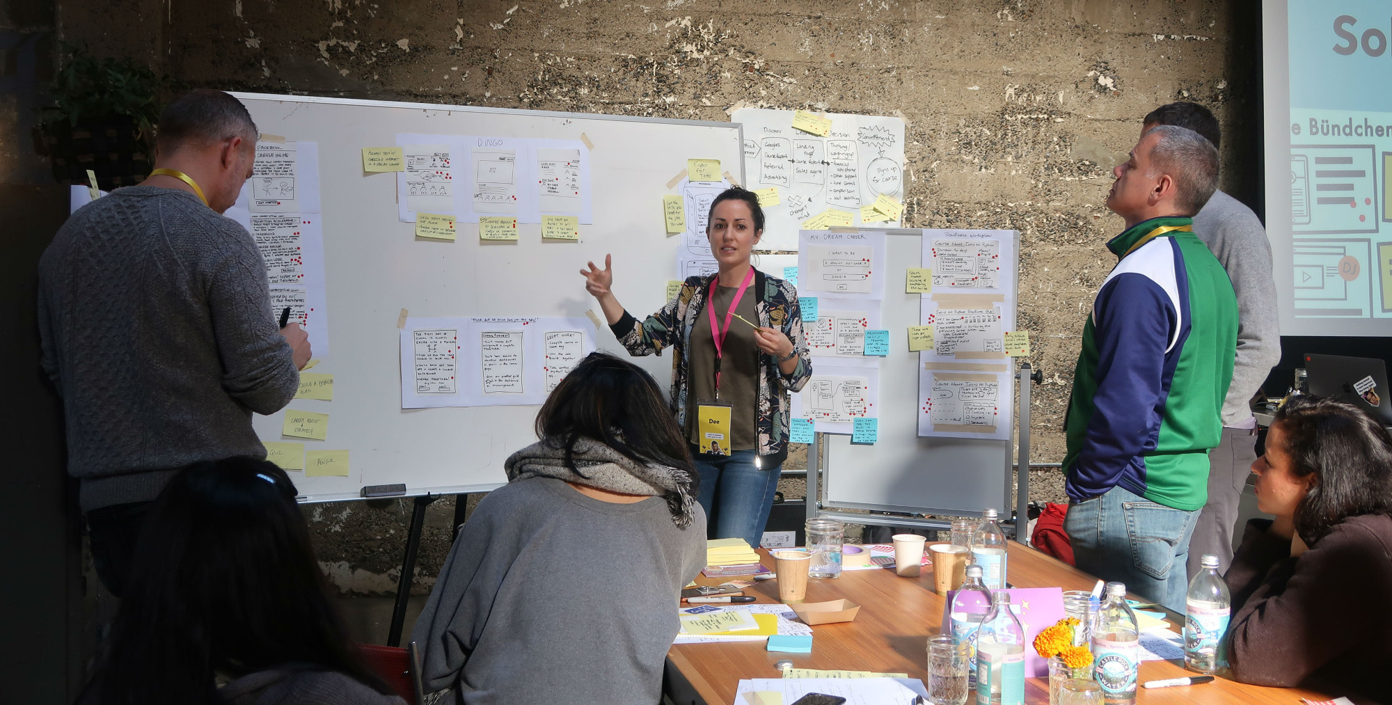 Design facilitation for UX designers