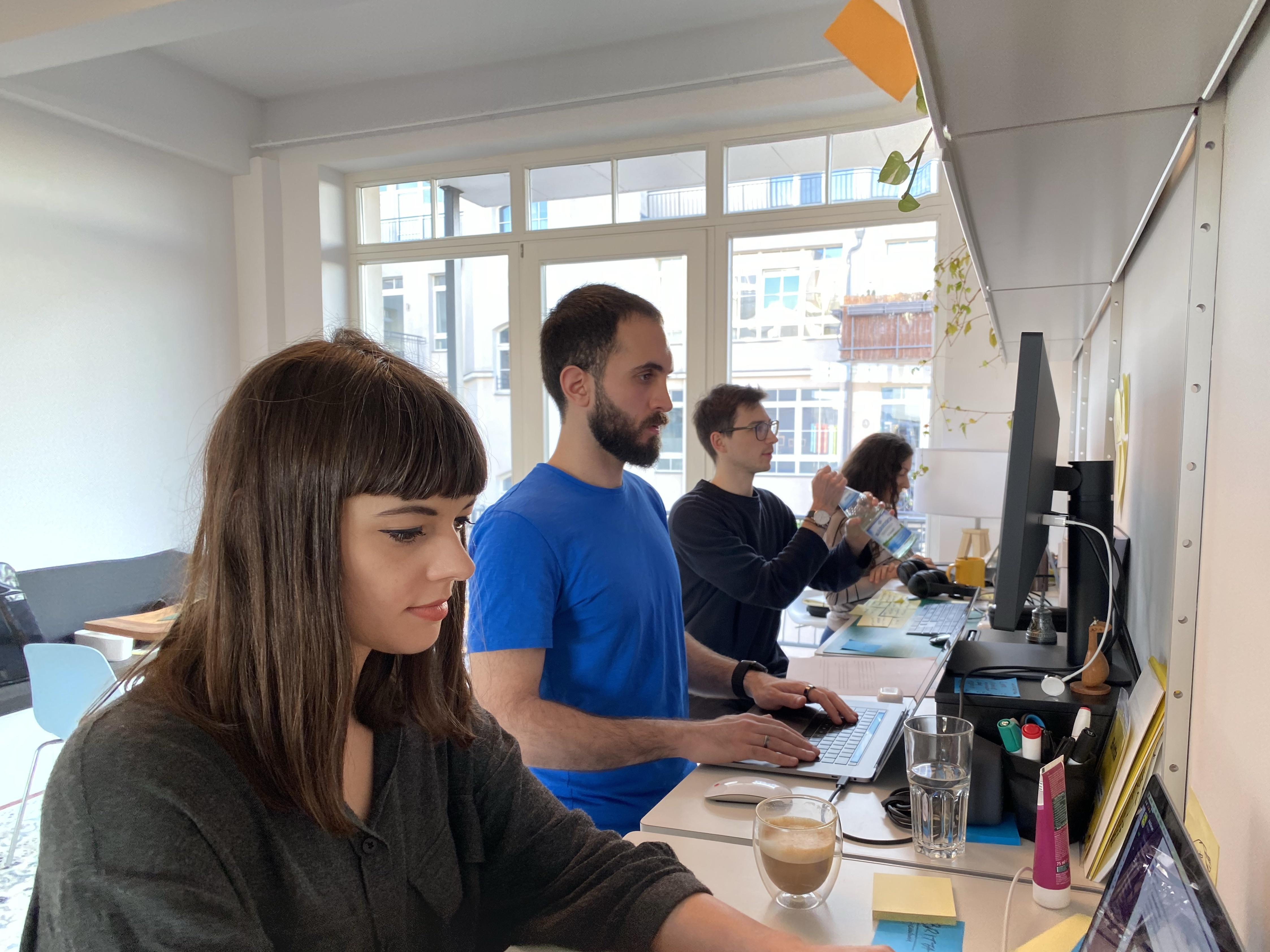 AJ&Smart workshop team