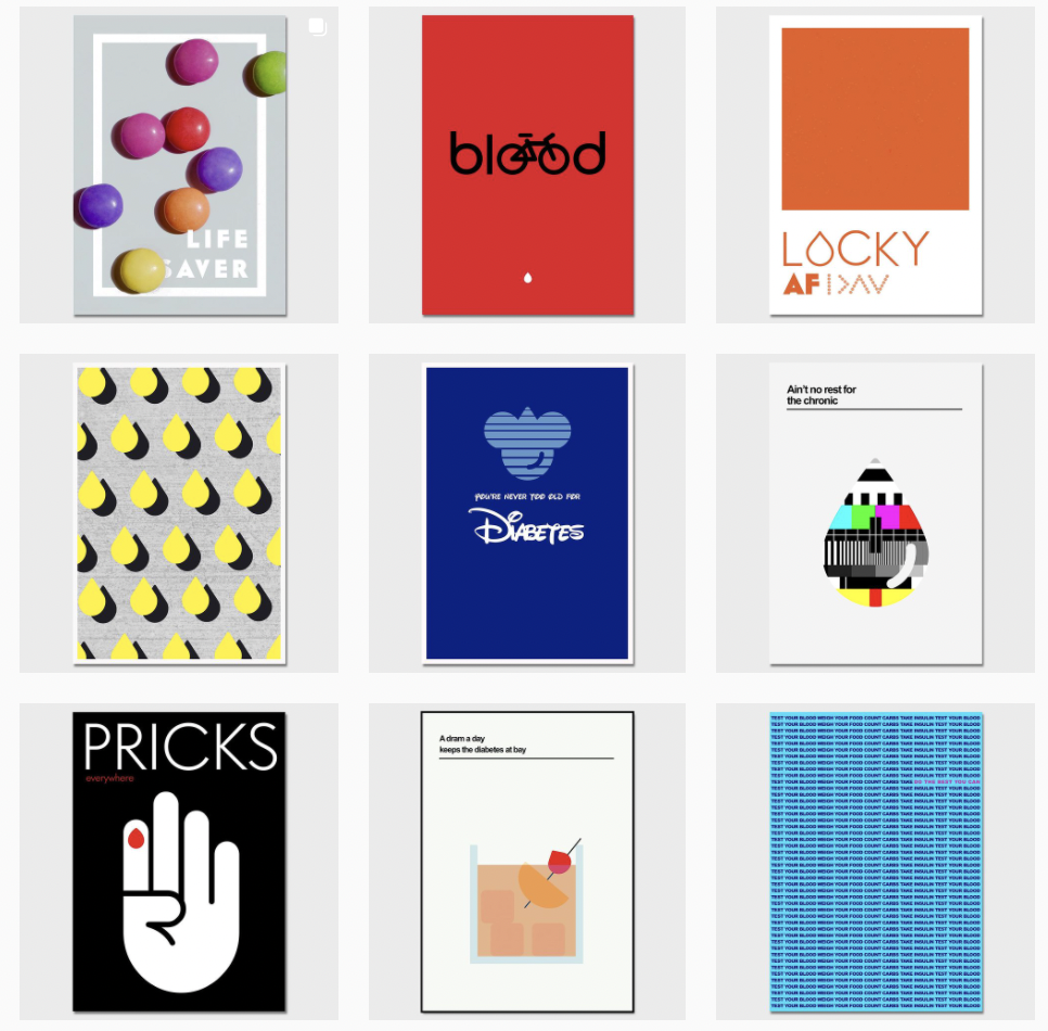 Diabetes by Design Instagram account