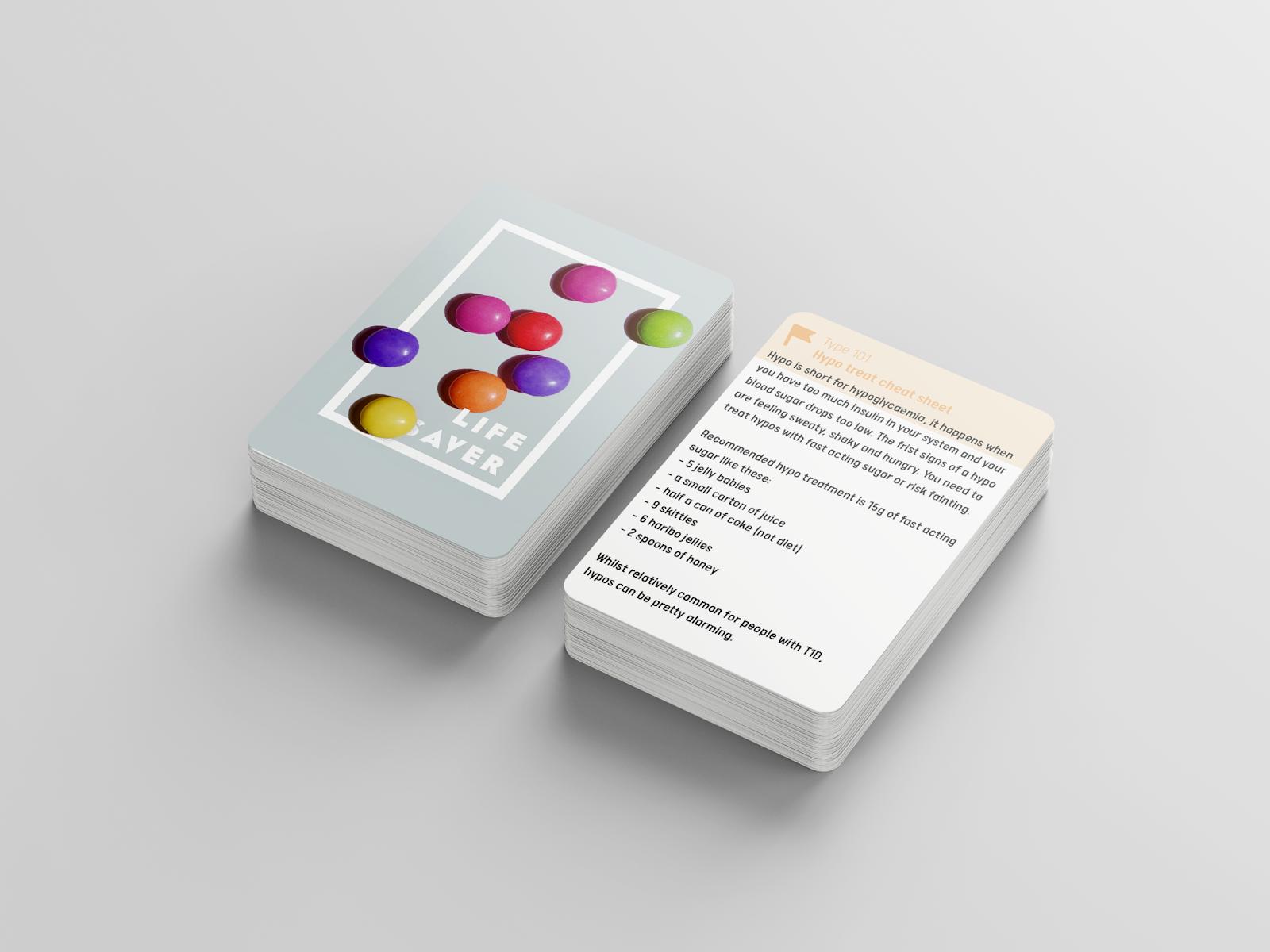 Diabetes by Design Companion Cards