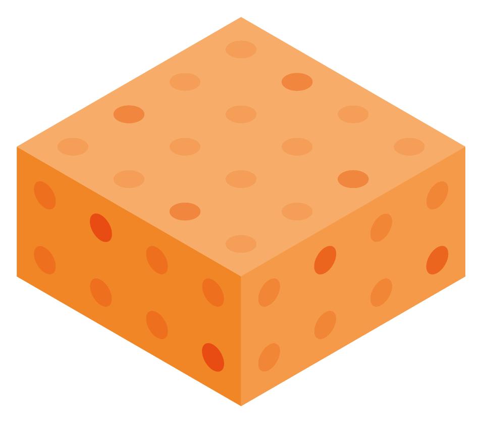 Orange Color Block Boxes