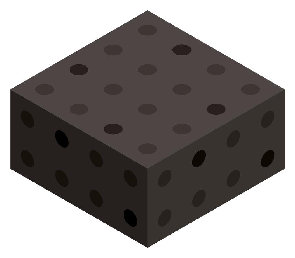 Black Color Block Boxes