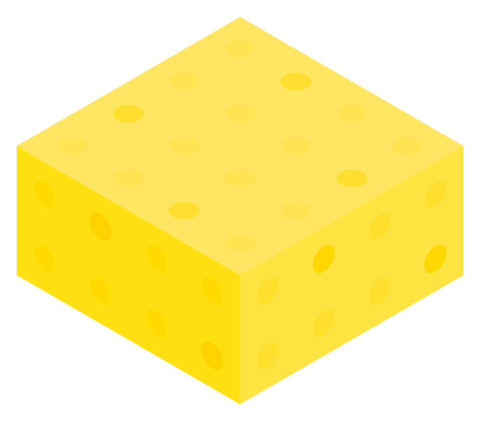 Yellow Color Block Boxes