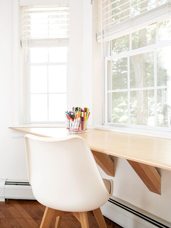 Large multi-pane windows sparkling clean
