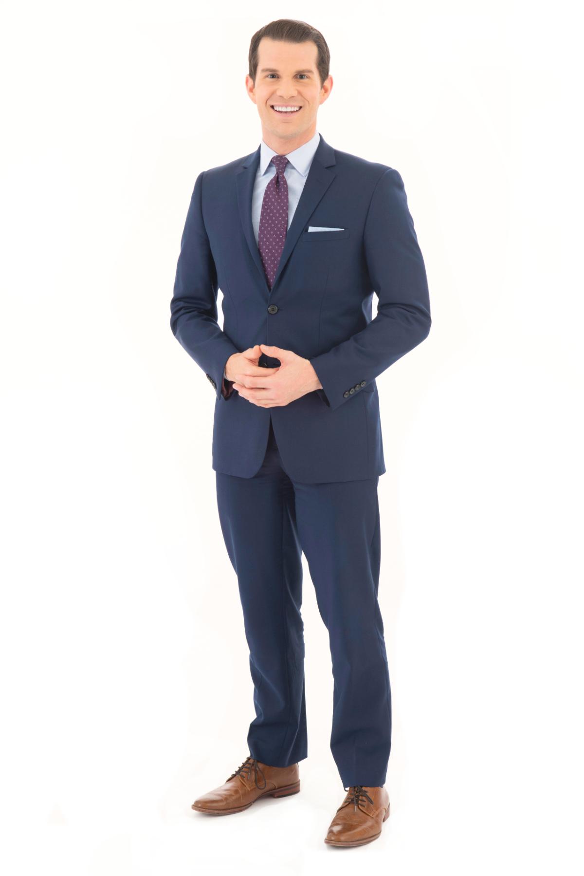 Matt Belanger standing