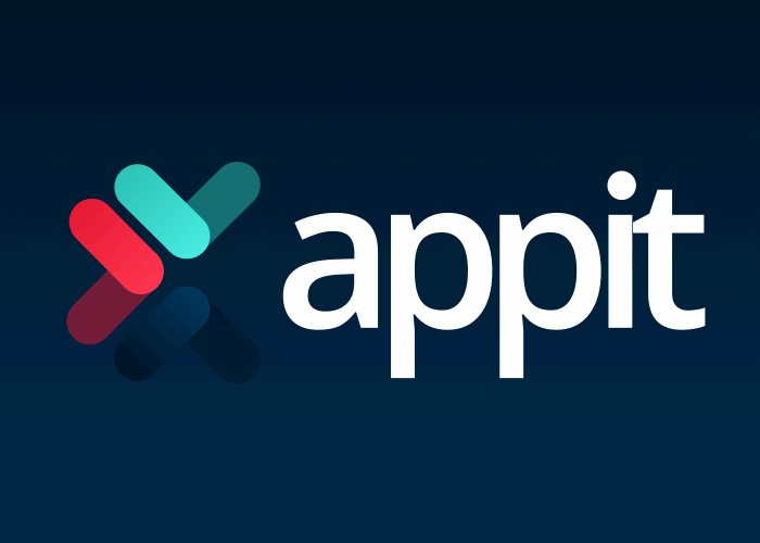 AppIt Ventures logo in blue