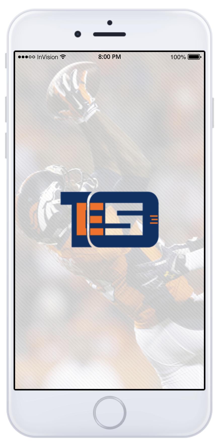 Emmanuel Sanders Mobile App Confirm Payment Screen