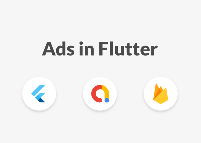 Flutter-AdMob-and-Firebase-Logos