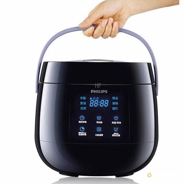 Nồi cơm điện tử Philips HD3060 sẽ chinh phục mọi người tiêu dùng