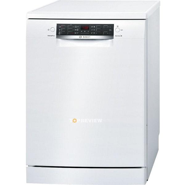 Bosch SMS46MW00E được nhiều người yêu thích bởi thiết kế linh hoạt