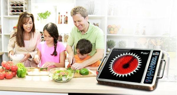 Lựa chọn công suất bếp hồng ngoại phù hợp
