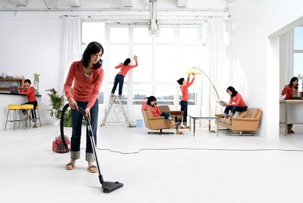 Làm sạch các thiết bị gia dụng