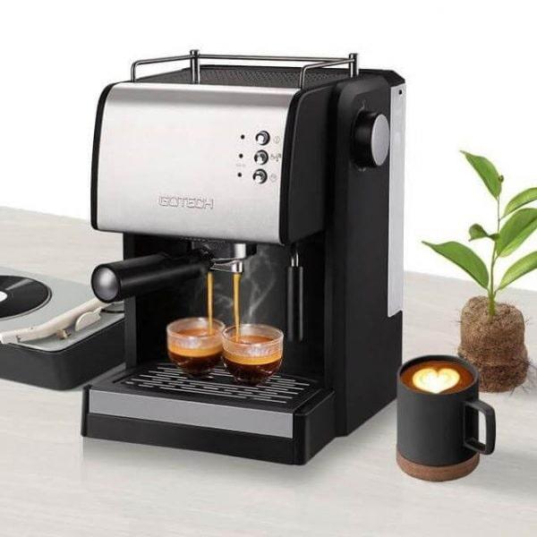 Tiết kiệm thời gian nhờ máy pha cà phê