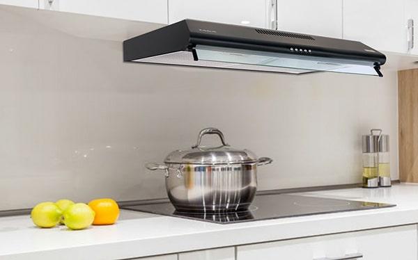 Lắp đặt máy hút mùi bếp đúng vị trí