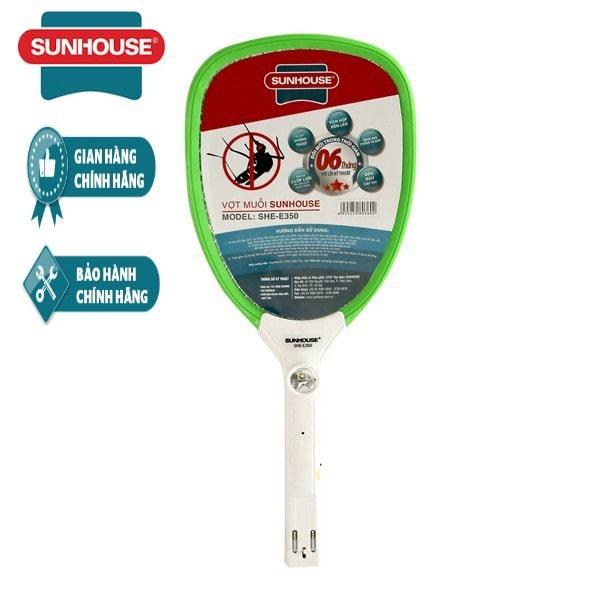 Vợt bắt muỗi cao cấp Sunhouse She E350G