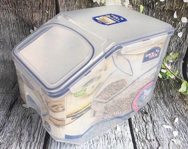 Hộp bảo quản gạo Lock&lock HPL510 10kg