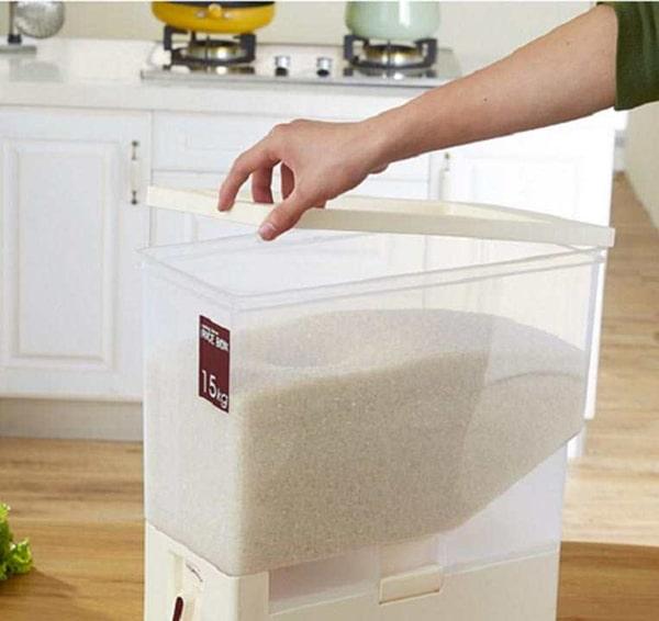 Hộp đựng gạo thông minh Tashuan 15kg