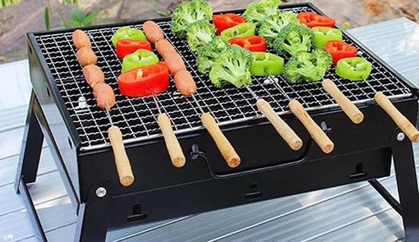 Bếp than hoa giữ được vị ngon của thực phẩm