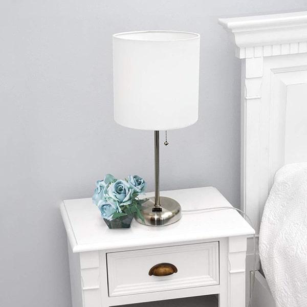 Đèn ngủ để bàn Limelights LT2024-WHT với trang bị hiện đại, thông minh