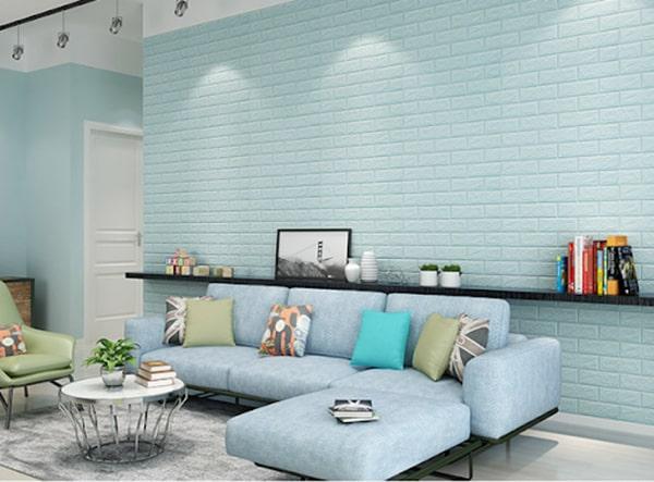 Thay đổi diện mạo cho ngôi nhà với xốp 3D dán tường