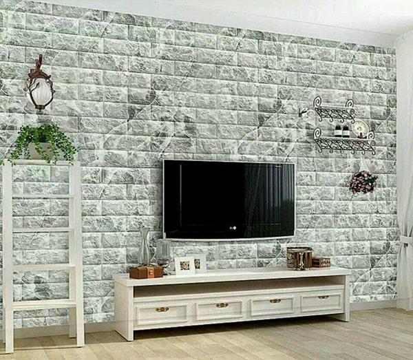 Xốp dán tường dễ dàng thi công và thay đổi