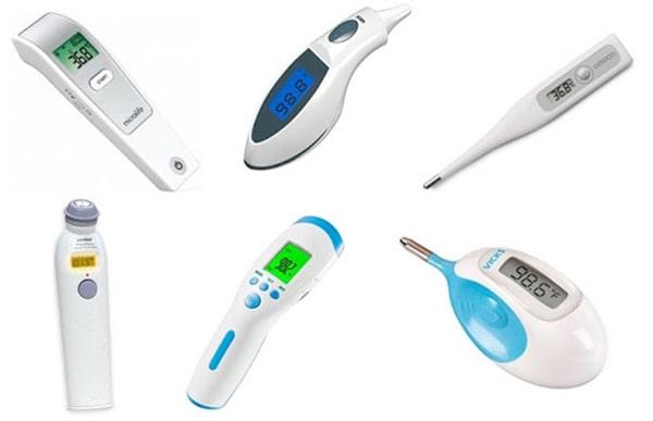 Nhiệt kế điện tử - thiết bị y tế luôn có ở gia đình