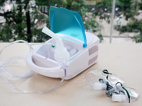 Máy xông khí dung iMediCare INA-09S đưa thẳng thuốc vào niêm mạc hô hấp