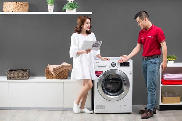 Chọn máy giặt có dung tích phù hợp