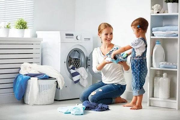 Máy giặt lồng ngang tiết kiệm nước hiệu quả