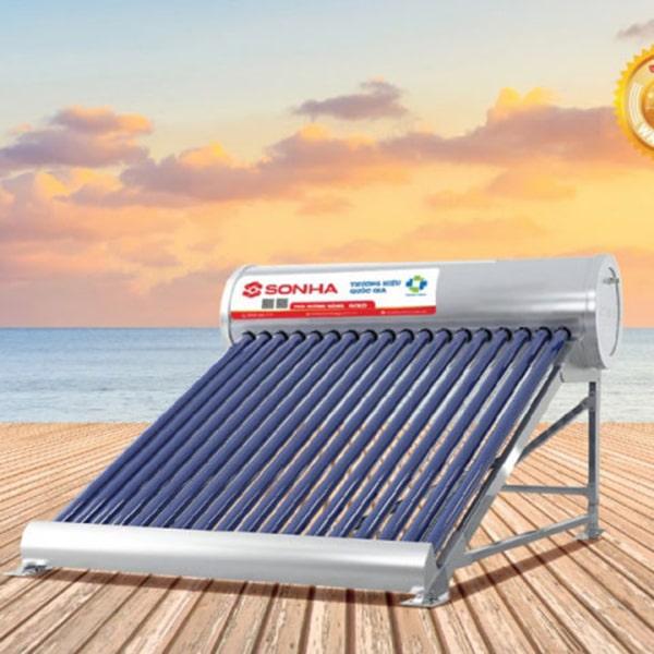 Máy nước nóng năng lượng mặt trời Thái dương năng gold 14 ống F58 140 lít