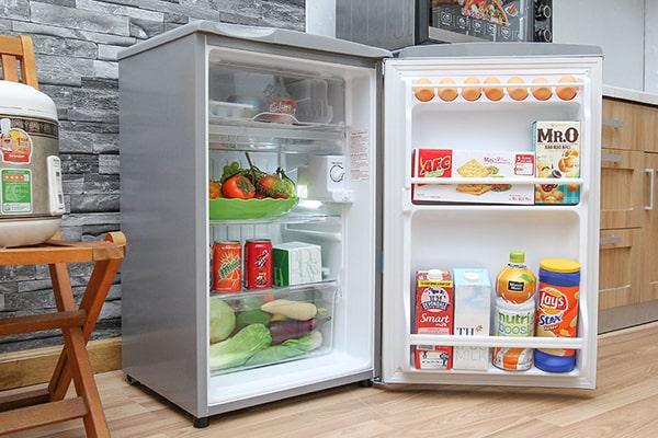 Tủ lạnh Aqua AQR-95AR(SS) 90L