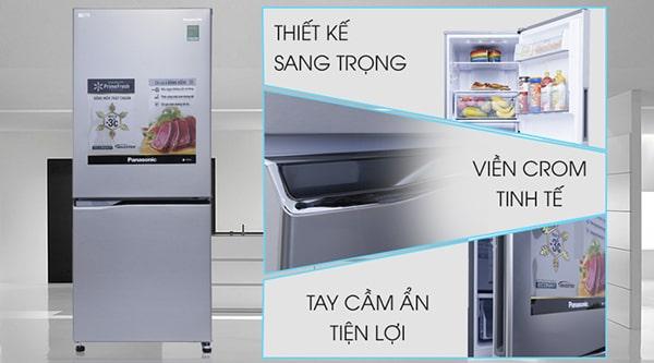 Tủ lạnh Inverter Panasonic NR-BV289QSVN (255L)