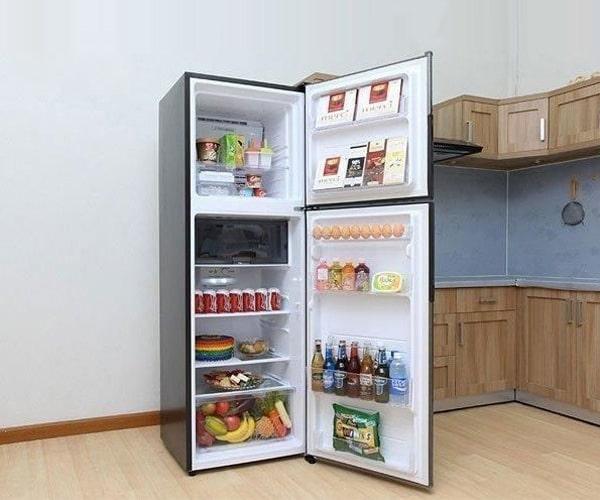 Tủ lạnh Sharp Apricot SJ-X346E-SL