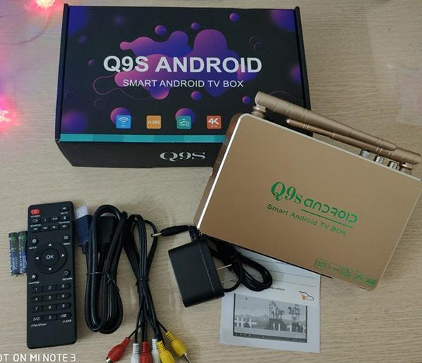 Android Tivi Box Q9S