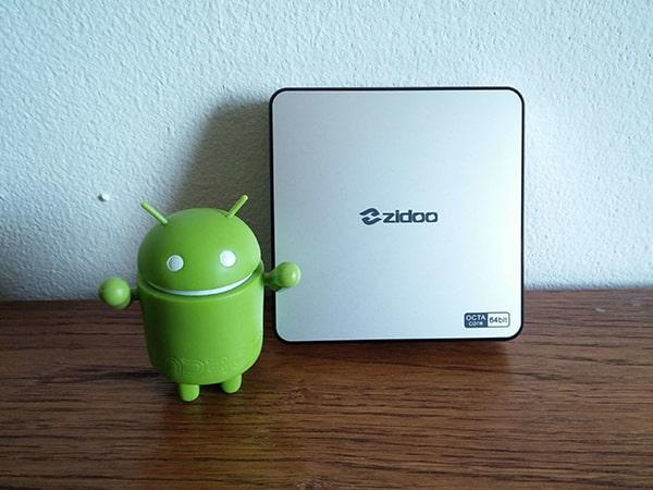 Android TV Box ZIDOO X6