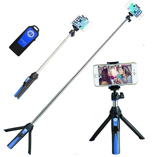 Gậy tự sướng selfie tích hợp Tripod Benro MK10