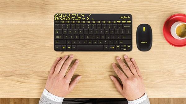 Bộ bàn phím không dây Logitech MK240