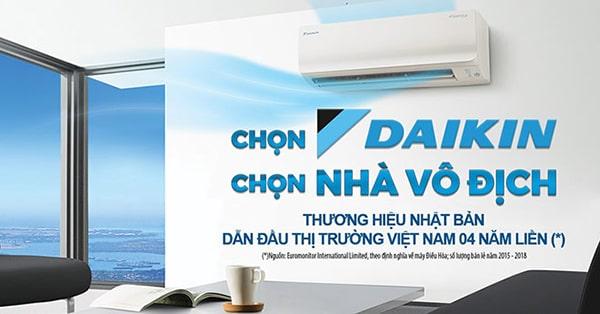 Máy lạnh thương hiệu Daikin