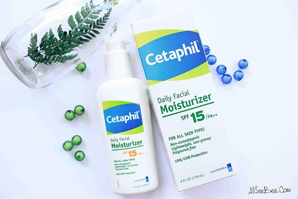Kem dưỡng ẩm cho da mụn nhạy cảm Cetaphil Daily Facial Moisturizer SPF 15