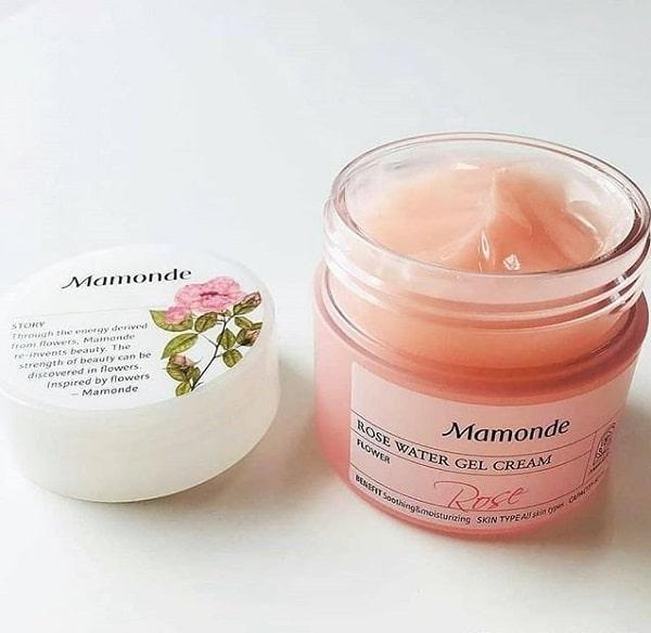 Kem dưỡng ẩm gel hoa hồng Mamonde Rose Water Gel Cream