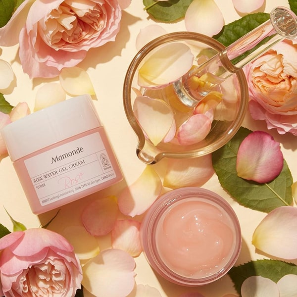 Kem dưỡng ẩm cho da nhạy cảm Mamonde Rose Water Gel Cream