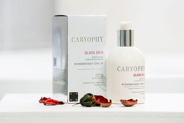Kem dưỡng trắng da toàn thân Caryoph Glass Skin