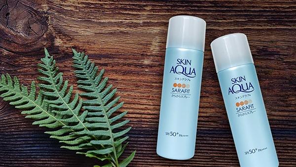 Xịt chống nắng Skin Aqua Sara-fit UV Spray